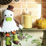 Crochet an Adorable Ghost Amigurumi For Halloween – the Pattern is FREE