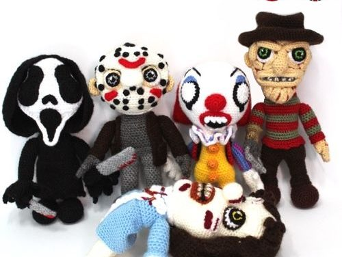 Crochet Horror Amigurumi For Halloween – Jason, Freddy, Ghostface, Pennywise & The Exorcist's Regan