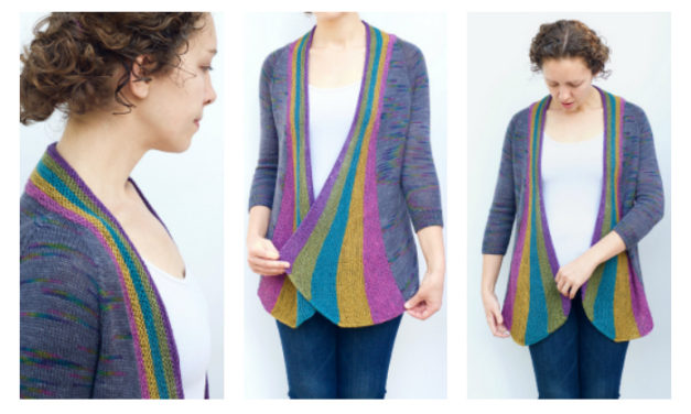 Oh, Hello Rainbow Party Cardi … Come On Over Here and Let Me Knit You!