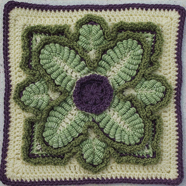 Crochet a Kale Block for National Kale Day – So Pretty!