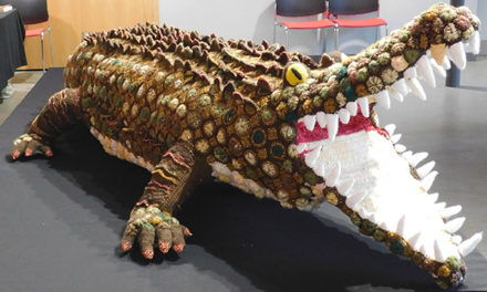 Have You Heard of the Bristol Crochet Crocodile?