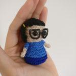 Crochet a Tiny Tina Belcher Amigurumi From Bob's Burgers