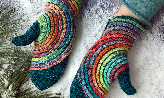 Knit a Pair of Hypnosis Mittens By Svetlana Gordon – You're Not Hallucinating, These Are Fantastic!