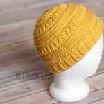 The Best Free Crochet Ponytail Hat Patterns (Messy Bun Beanies) On Trend For The 2017-2018 Season!