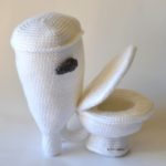 Crochet a Toilet Amigurumi for World Toilet Day With This FREE Pattern