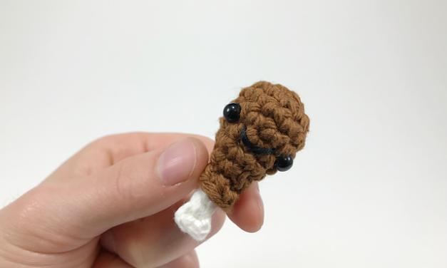 Crochet a Teeny Tiny Turkey Leg Amigurumi! Get the Pattern FREE …