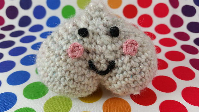 Testicle Hackeysack - A New Take on Ball-Kicking ... in Crochet!