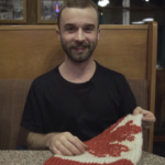 How to Hitchhike While Knitting a Canadian Flag 🍁