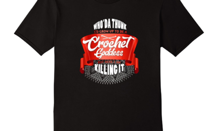 I'm a Crochet Goddess and I'm Killing It T-Shirt for Crocheters