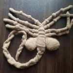 Knit a Facehugger, Gives Free Hugs! Pattern Is Free Too!