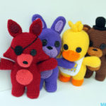 "Finn's Pick: Crochet Five Nights at Freddy's Amigurumi, ""Five Nights Friends"""