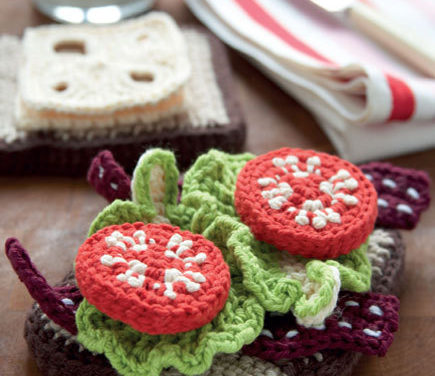 The Yummiest Crochet Amigurumi Sandwich Ever! Comes With a Side of Free Pattern …