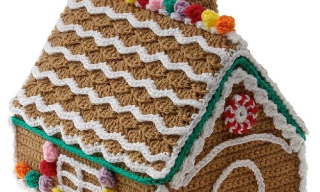 Crochet a Gingerbread House For The Holiday Season – Here Are 4 Fun Patterns To Get You Started!
