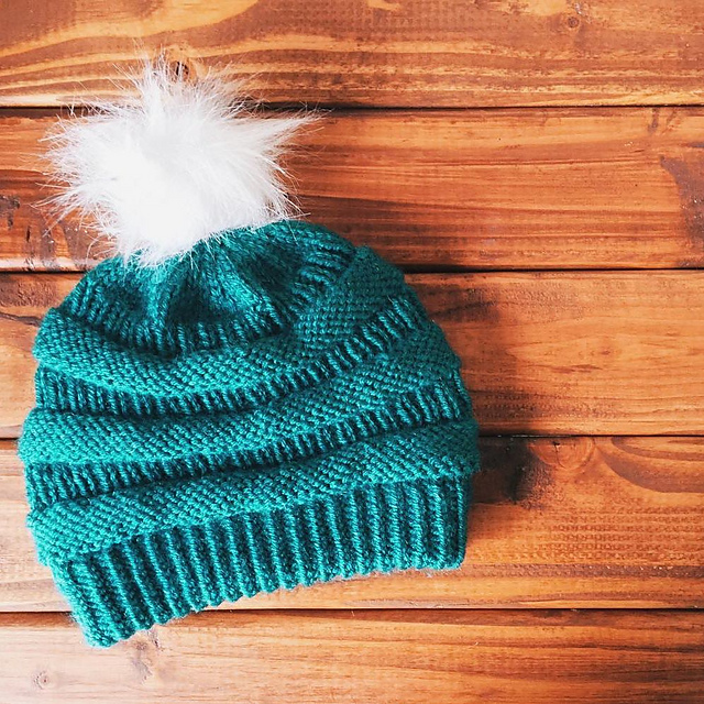 You ll want to knit these 5 popular winter hats the patterns are free knithacker - Free cat hat knitting pattern ...