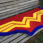 She Knit a Wonder Woman Blankie and You Can Too!