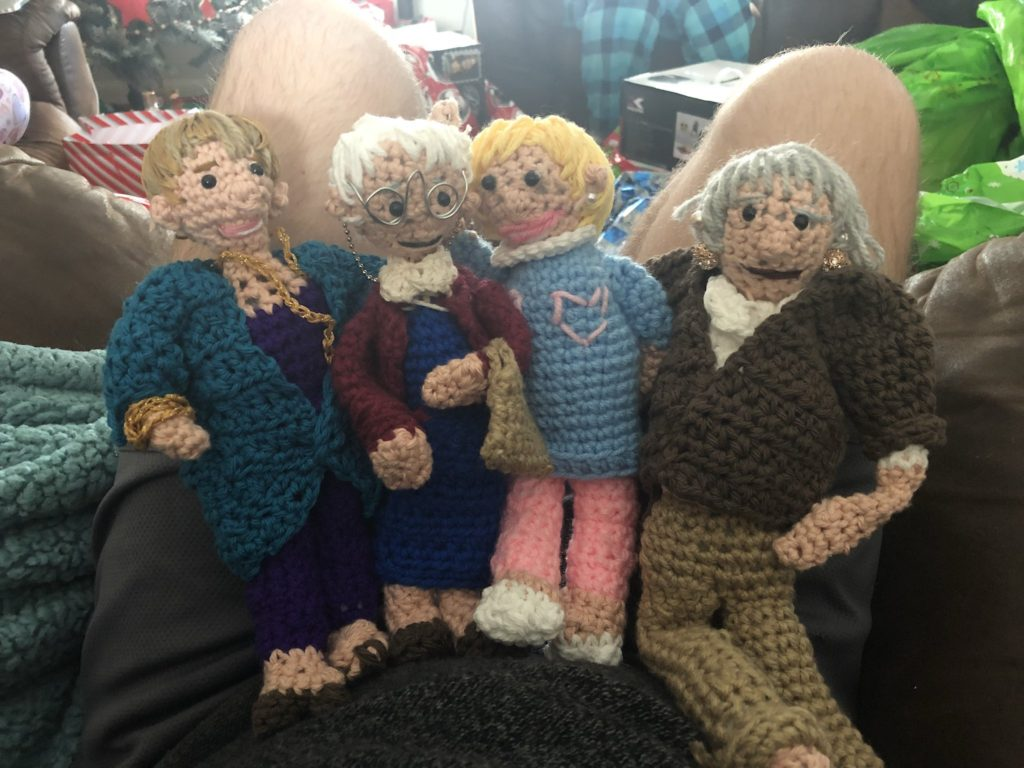 His Mom Crocheted Him 'Golden Girls' Dolls and the Internet Couldn't Be Happier For Him - Get the Patterns!