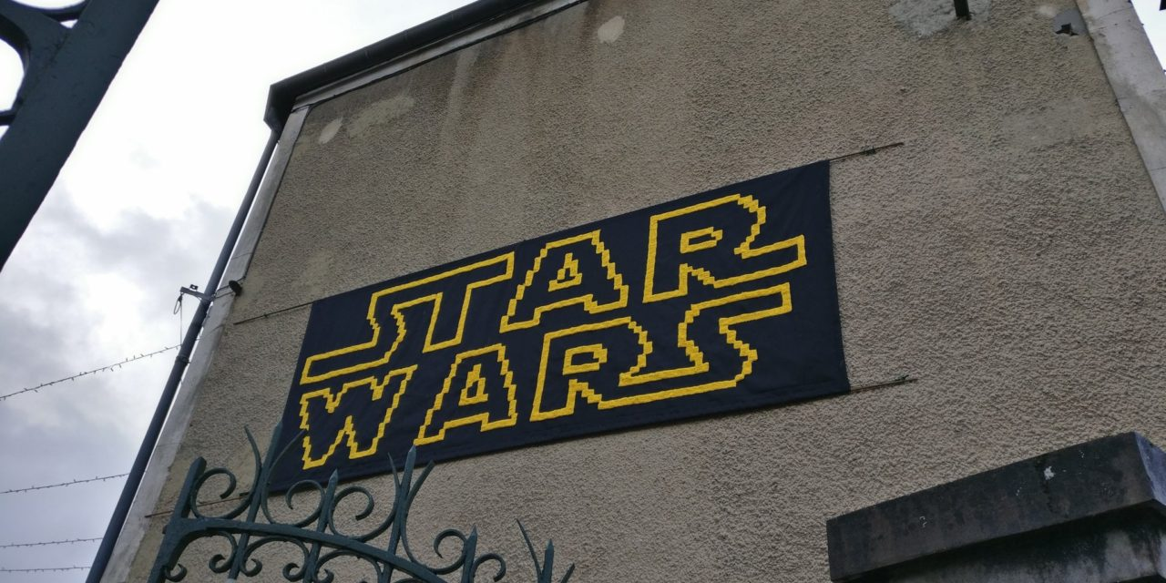 Star Wars Yarn Bomb Spotted in Gallius, France