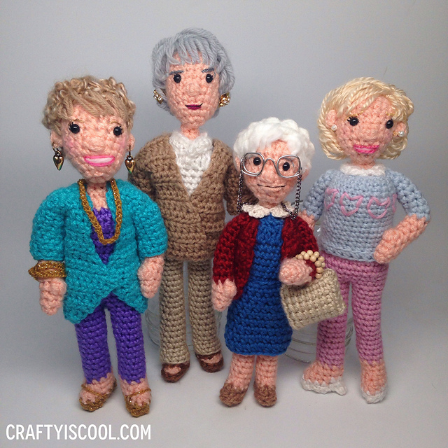 His Mom Crocheted Him 'Golden Girls' Dolls and the Internet Couldn't Be Happier For Him - Get the Pattern!