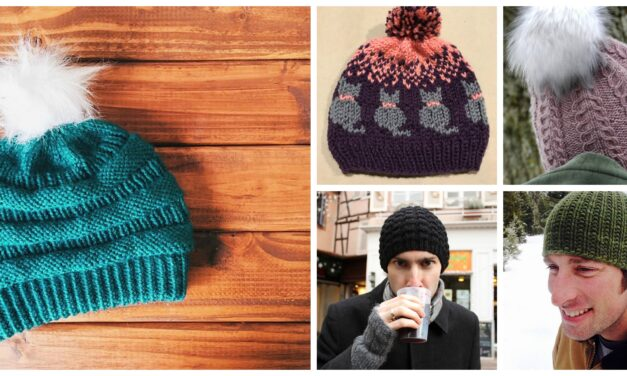 You'll Want To Knit These 5 Popular Winter Hats – The Patterns Are FREE!