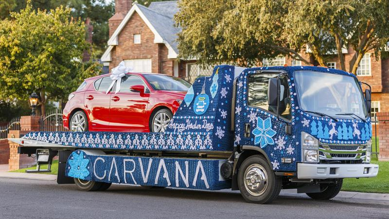 This Ugly Christmas Sweater On Wheels May Not Be the Ugliest But It Could Be the World's Biggest!