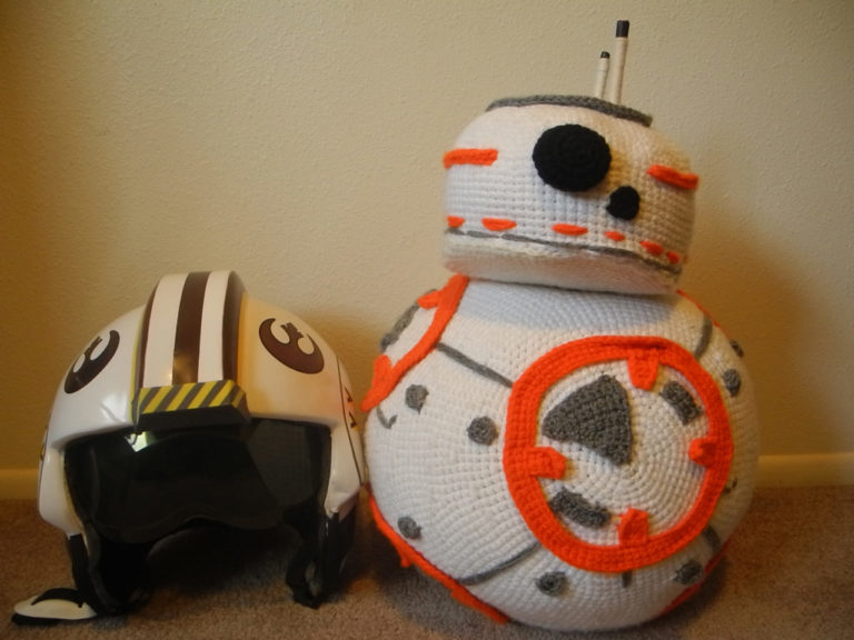 18-Year-Old Ellie McPhee Crocheted a BB8 and the Folks at Star Wars Definitely Noticed!
