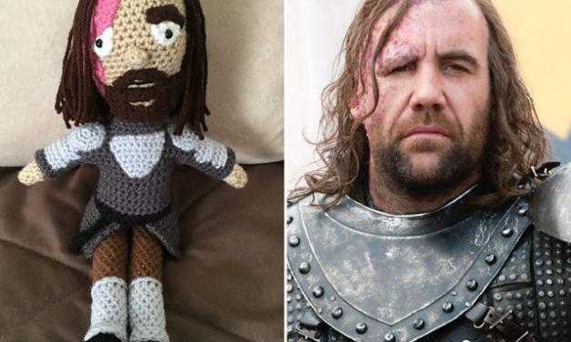Awesome Amigurumi Alert! She Crocheted The Hound From Game of Thrones