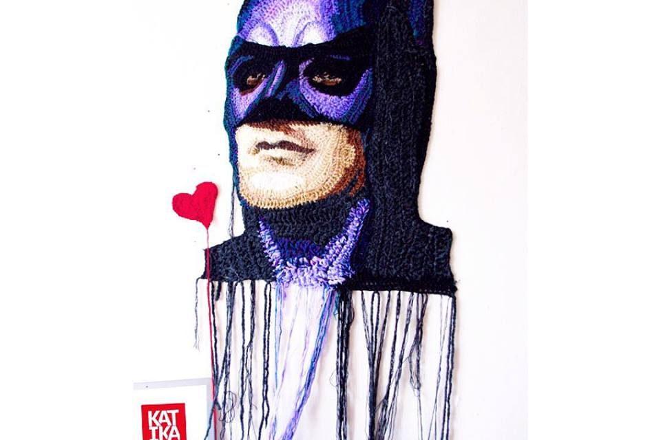 Katika's Crochet Portrait of Batman Has No Limits – A Must-See!
