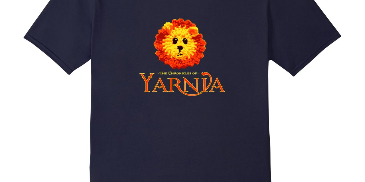 The Chronicles of Yarnia T-Shirt Makes a Great Gift For Knitters and Crocheters!