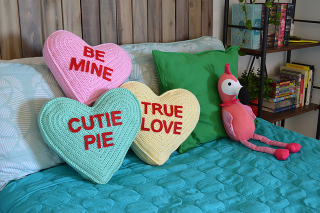 Three Kitschy and Fun Valentine's Day Patterns for Crocheters