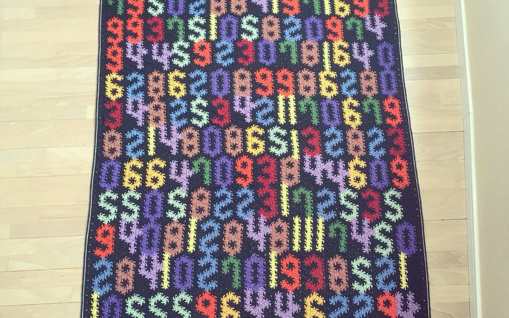 Pi is Coming, How Many Digits Can You Crochet Into One Blanket?