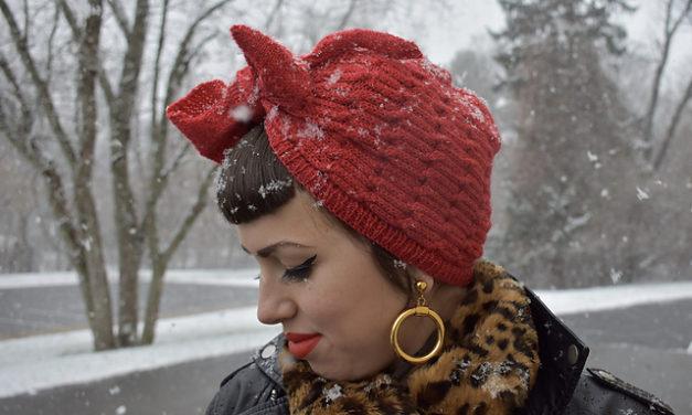 Knit a Chains of Love Turban, It's So Fierce!