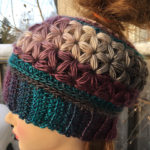 Crochet This Gorgeous Unforgettable Stars Messy Bun Hat With The Unique Jasmine Star Stitch