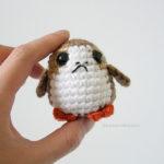 Crochet a Cute Porg From Star Wars: The Last Jedi, Pattern By The Geeky Hooker