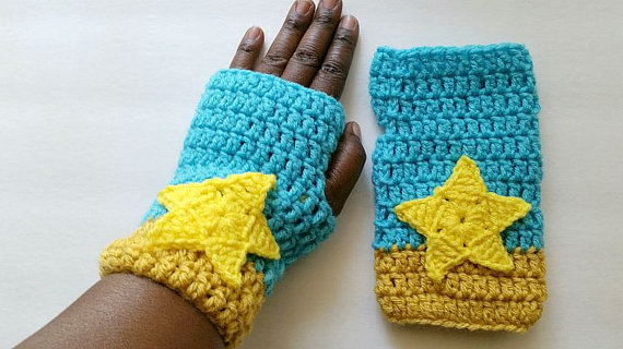 Pearl Inspired Gloves