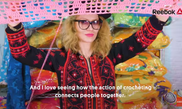 Meet Fiber Artist Olek On Great Big Story – Proof That Crochet Can Change the World!