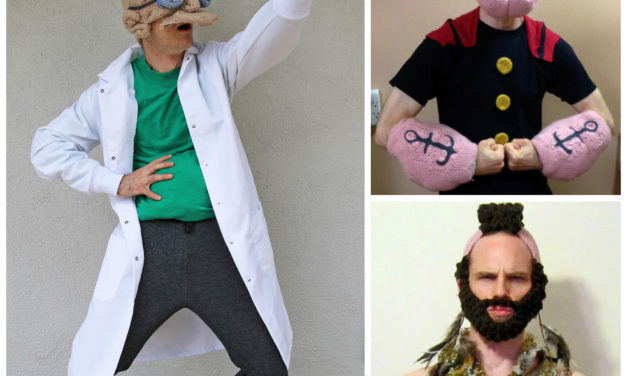 Good News Everyone! Pat Ahern's Crochet Cosplay Is Here To Make Your Day!