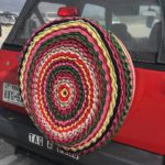 Crocheted Spare Tire Cozy Spotted In Texas!