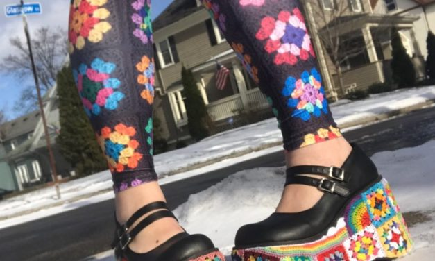 These Granny Square Platform Shoes Are Real and Therefore 100x Better Than Unicorns …