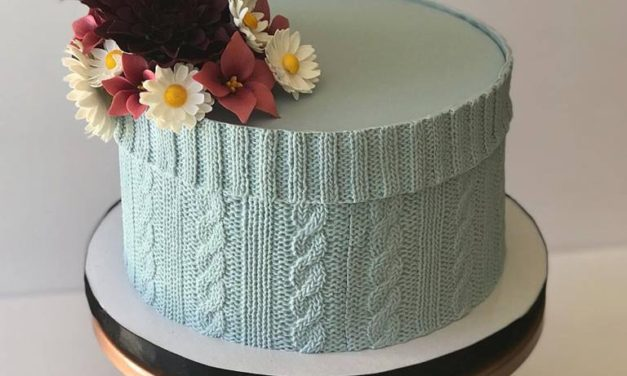 One of the Most Detailed Edible Cable-Knit Cakes I Have Ever Seen – Simply Incredible … WOW!
