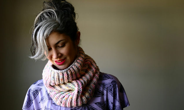 Your First Brioche Project is Here! Check Out This Beginners Brioche Cowl Pattern By Lavanya Patricella