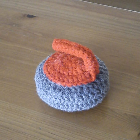 Crochet a Curling Stone