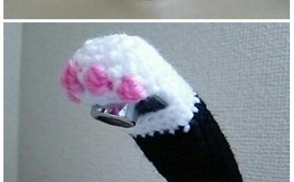 Turn Your Faucet Into a Cute Cat Paw – Check Out This Quirky Yarn Bomb!