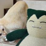 Crochet a Giant Snorlax Amigurumi – FREE Pattern!