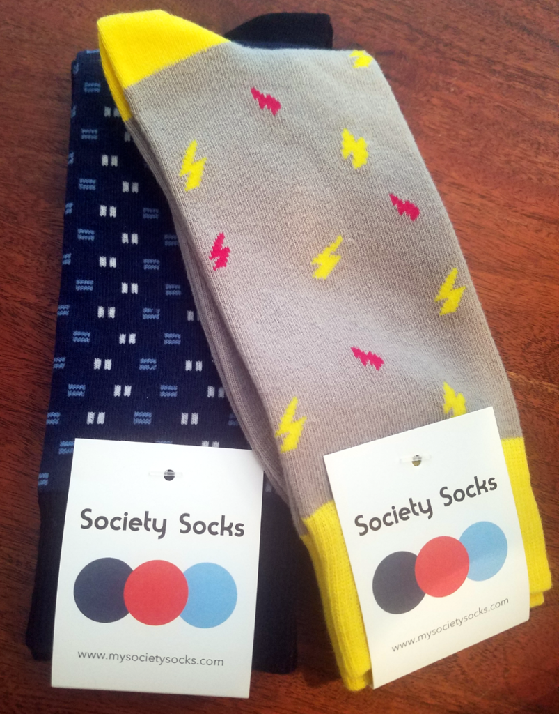 Society Socks - a Cool Socks Subscription Service For a Good Cause