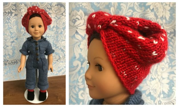 So Long Rosie, Thanks For Showing Us We Can Do It! 7 Knit & Crochet Patterns To Pay Tribute To Rosie the Riveter!