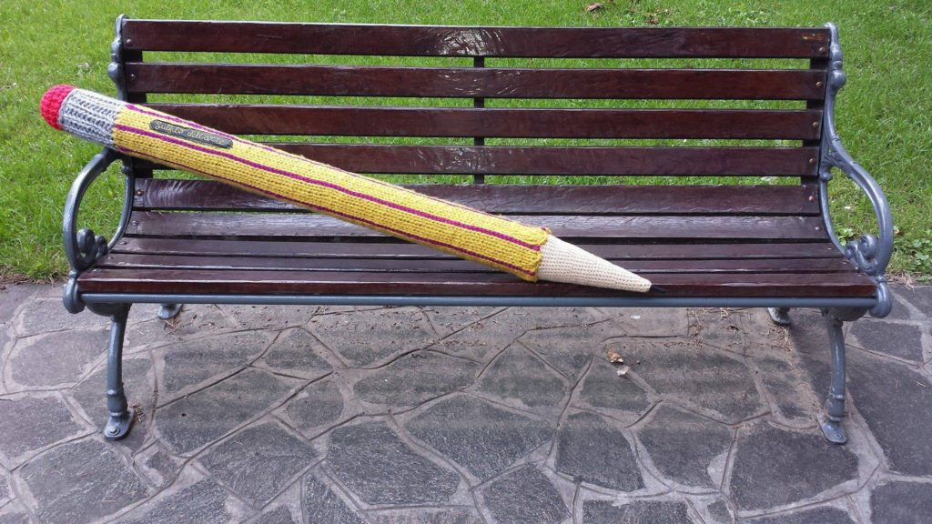 Fun Oversized Pencil Knitted by Sul Filo Dell'Arte