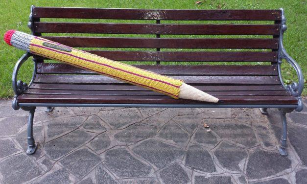 Fun Oversized Pencil Knitted by Sul Filo Dell'Arte