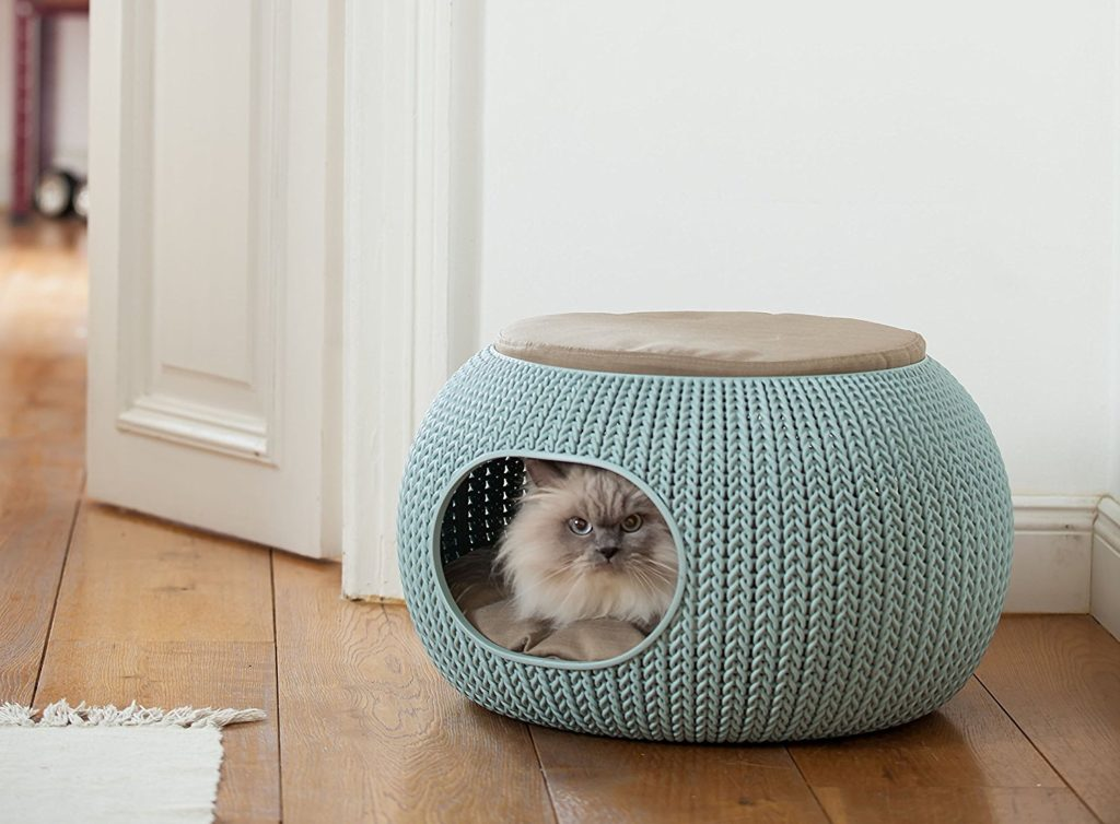 Keter's Knitting-Inspired Pet Beds Are a Home Decor Dream Come True