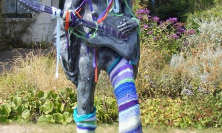 Jimi Hendrix Gets a Yarn Bomb Makeover!