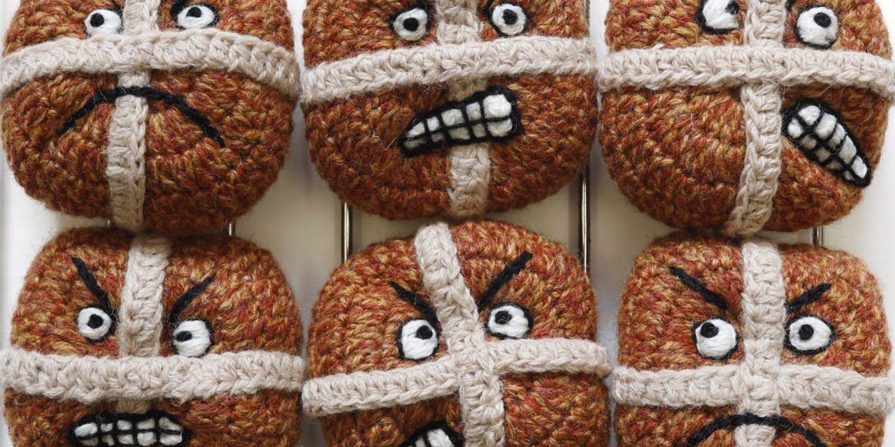 They're Hot and They're Cross … Kate Jenkins' Crocheted Buns Are Like No Other